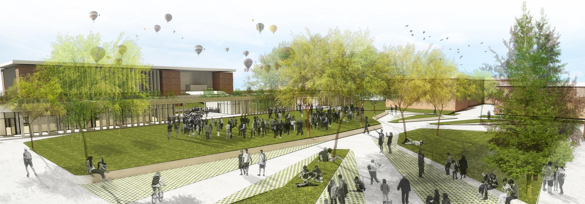 """Galería de Primer Lugar Concurso para el """"Master Plan Campus ..."""
