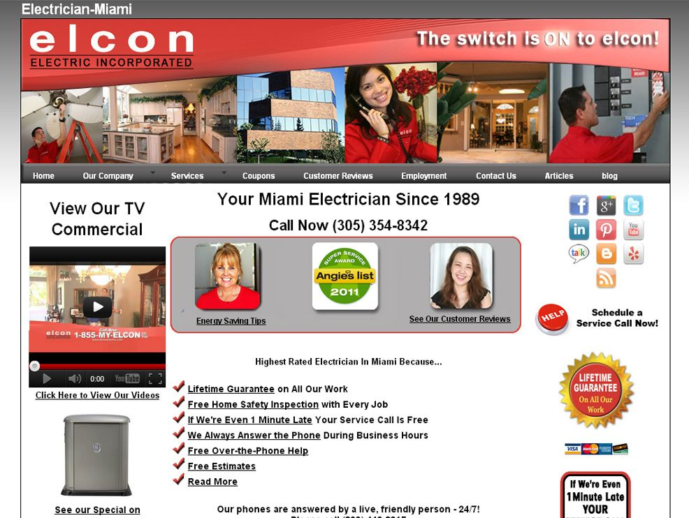 http://www.elconelectric.com/ Elcon Electric of Miami ...