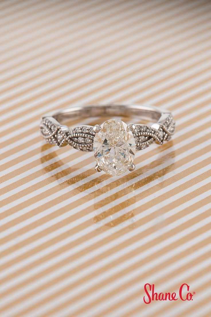 Delicate Details Make All The Difference Diamond Engagement