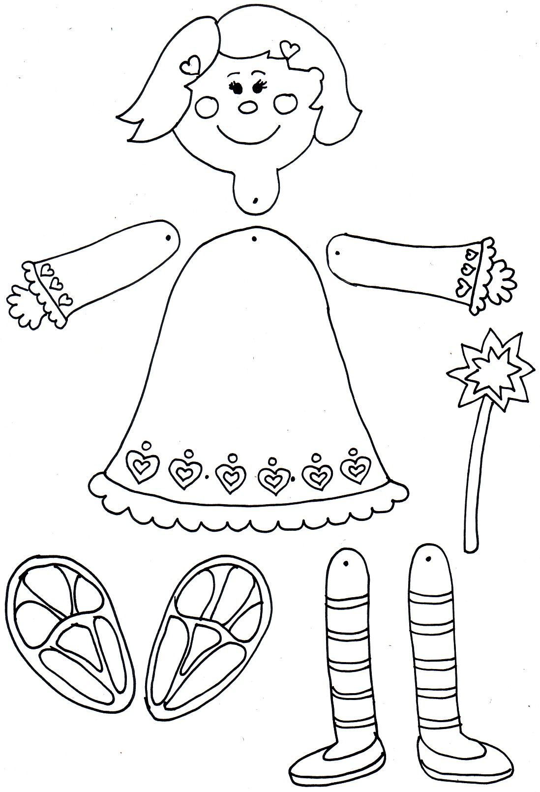 Mozgo Bab Paper Dolls Mixed Media Art Journaling Paper Puppets
