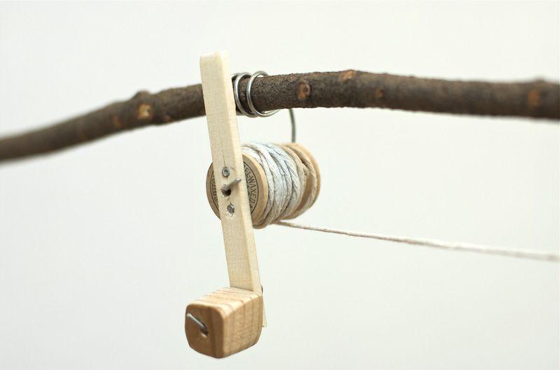Diy Thread Spool Fishing Rod For Kids Diy Fishing Pole Fishing