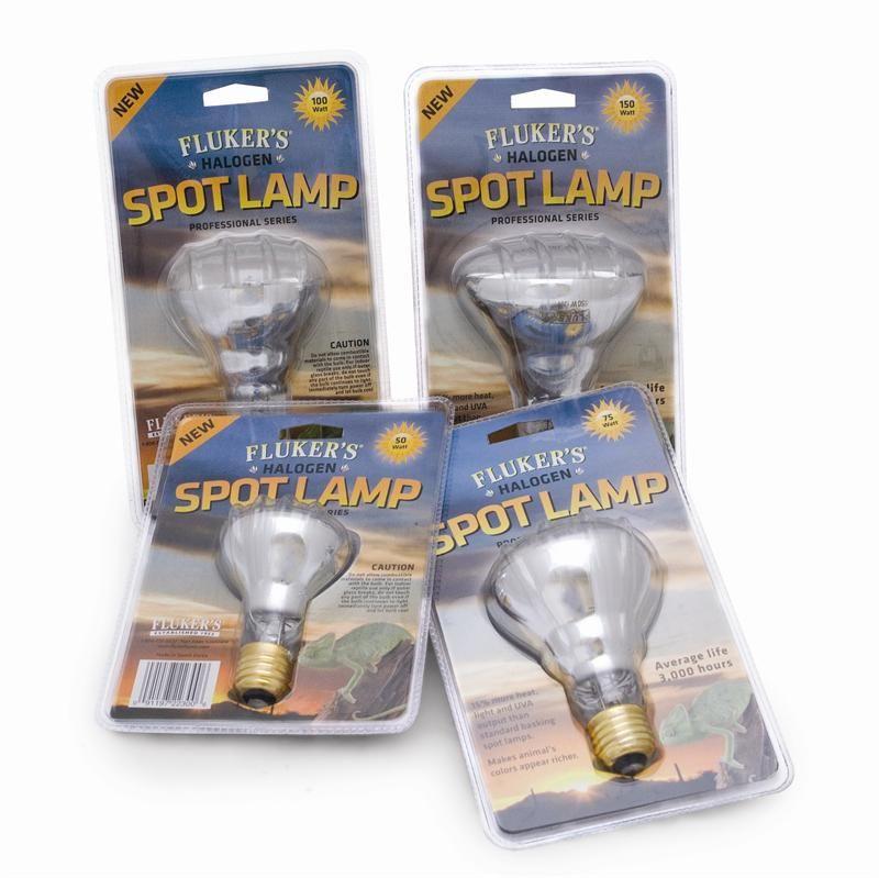 Fluker S Professional Series Halogen Spot Lamp 15 More Heat