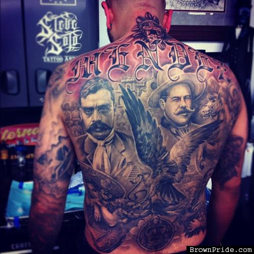 Mexican Style Tattoos | Mexican Tattoos | Mexican tattoo ...