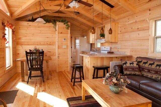 Park model log cabin breckenridge park models chariot for Log cabin plan con soppalco
