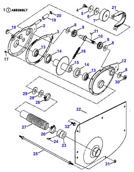 Snapper Chain Case Parts - Snapper Rear End Parts | Snapper, Chain, Case | Rear Engine Diagram |  | Pinterest