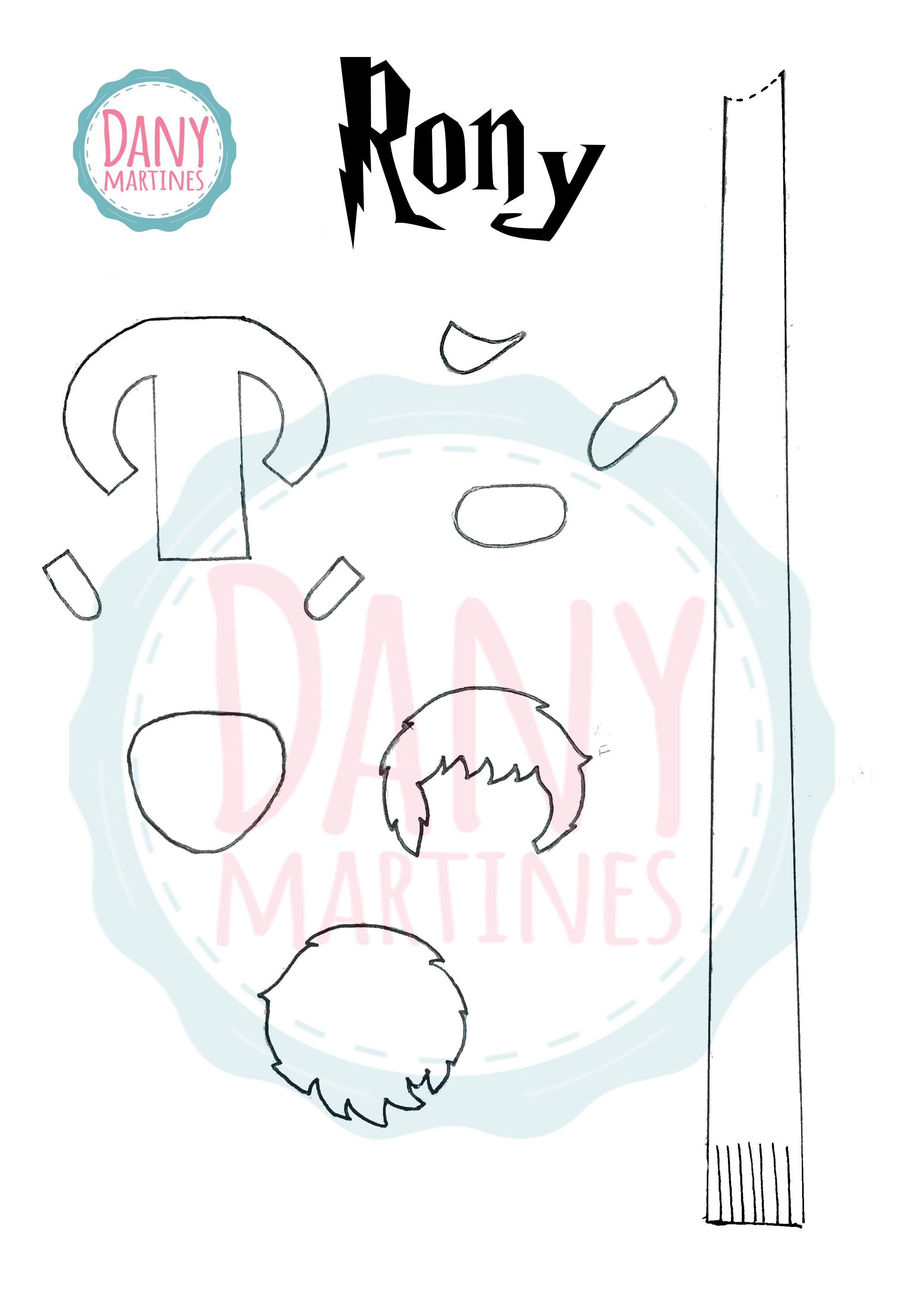 Molde para recorte - Marcador de páginas do Rony Assista: https://www.youtube.com/watch?v=s0d1Y9Xg9KE