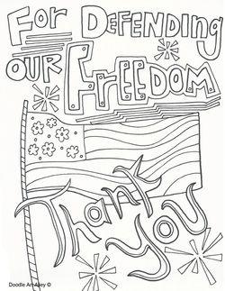 Veterans Day Free Coloring sheet. #veteransday (November