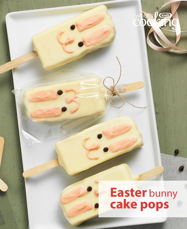 A great tasting dessert or a cute easter gift these cake pops are a a great tasting dessert or a cute easter gift these cake pops are a welcome addition to your family feast tap or click photo for this bunny cake pops negle Choice Image