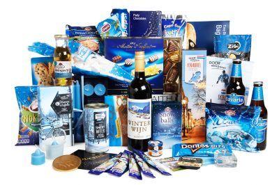 Kerstpakketten :: Sfeervol blauw