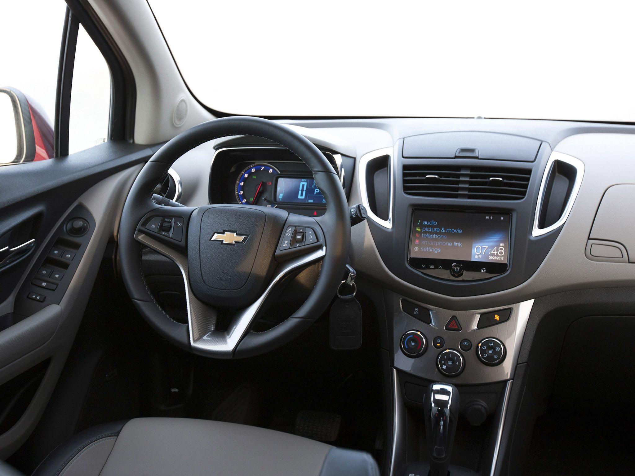 2014 Chevrolet Trax Crossover Red Car Interior Chevrolet Trax