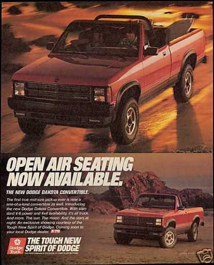 Dodge Dakota Convertible (1989)