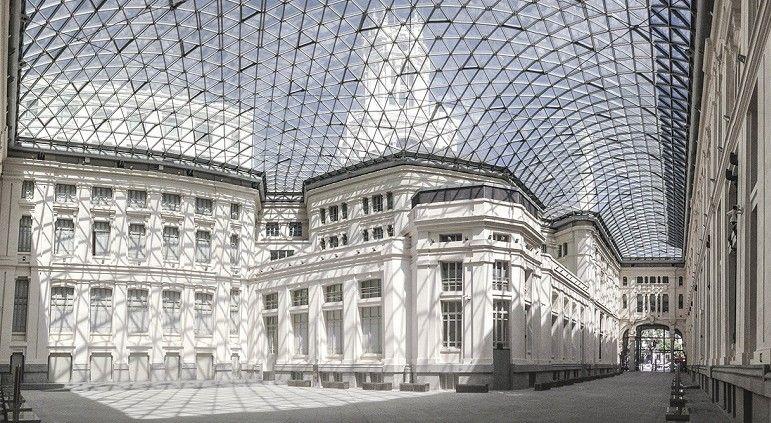 Resultado de imagen de Galería de Cristal - Palacio de Cibeles