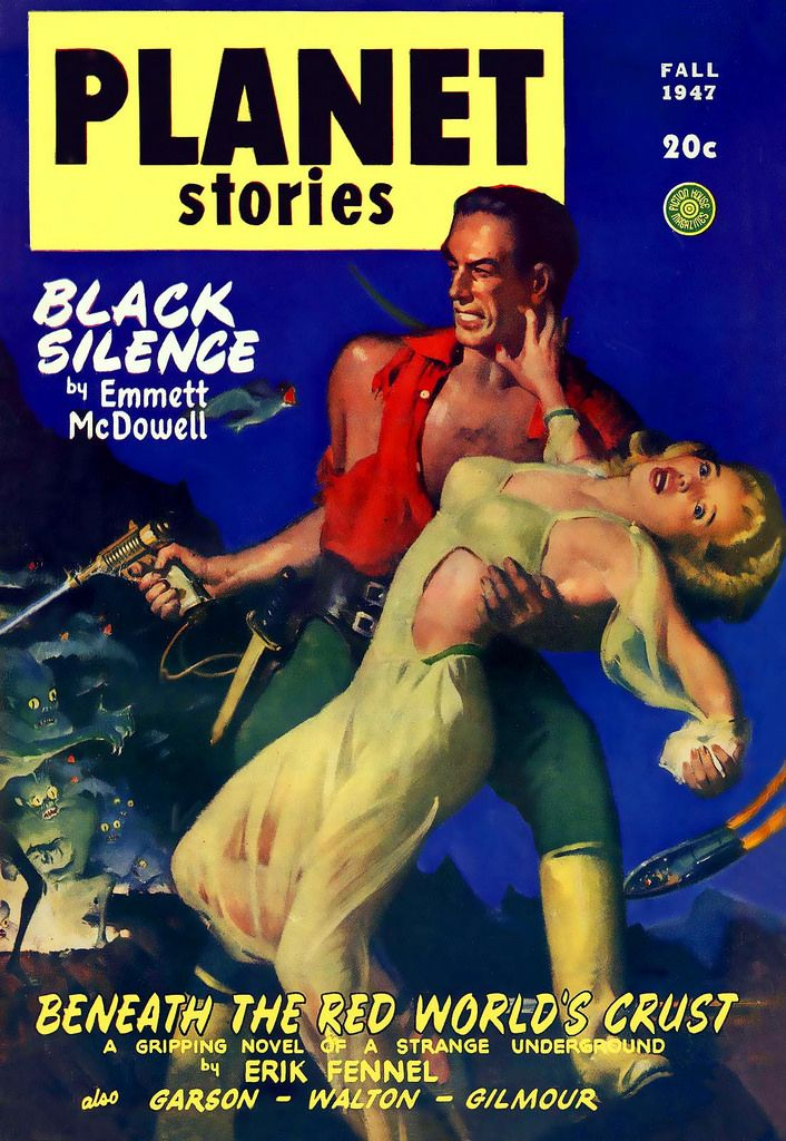 Planet Stories - Black Silence