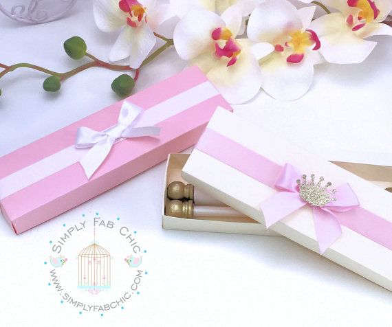 Scroll Invitation Boxes Set Of 10