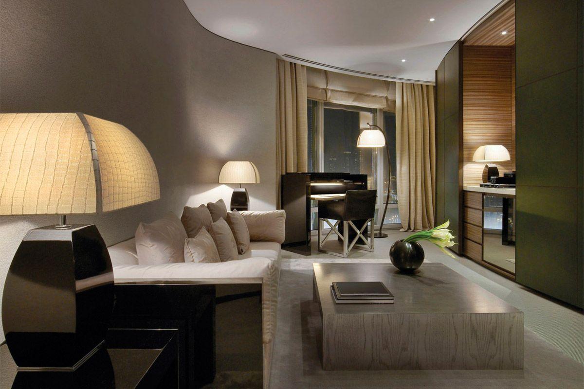 Дизайн отеля в современном стиле