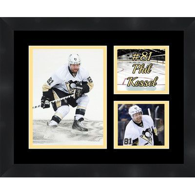 Frames By Mail Pittsburgh Penguins Phil Kessel 81 Photo Collage Framed Photographic Print