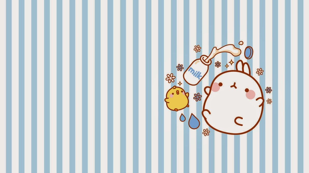 Sweety Spica Molang Desktop Wallpaper Cute wallpapers