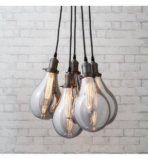 Edison Light Bulb Cluster Ceiling Light Modern Ceiling Lamps Ceiling Lights Cluster Pendant Lighting