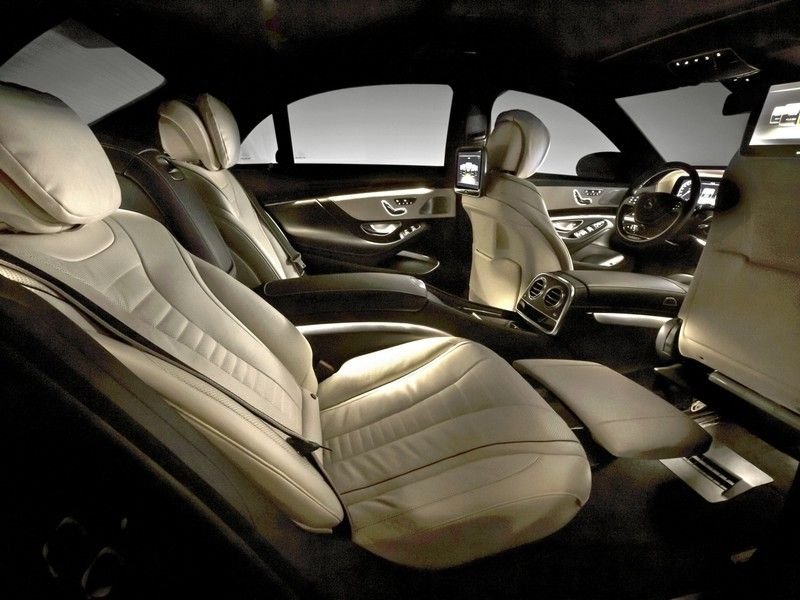 Recling In Comfort With Images Mercedes S Class Interior