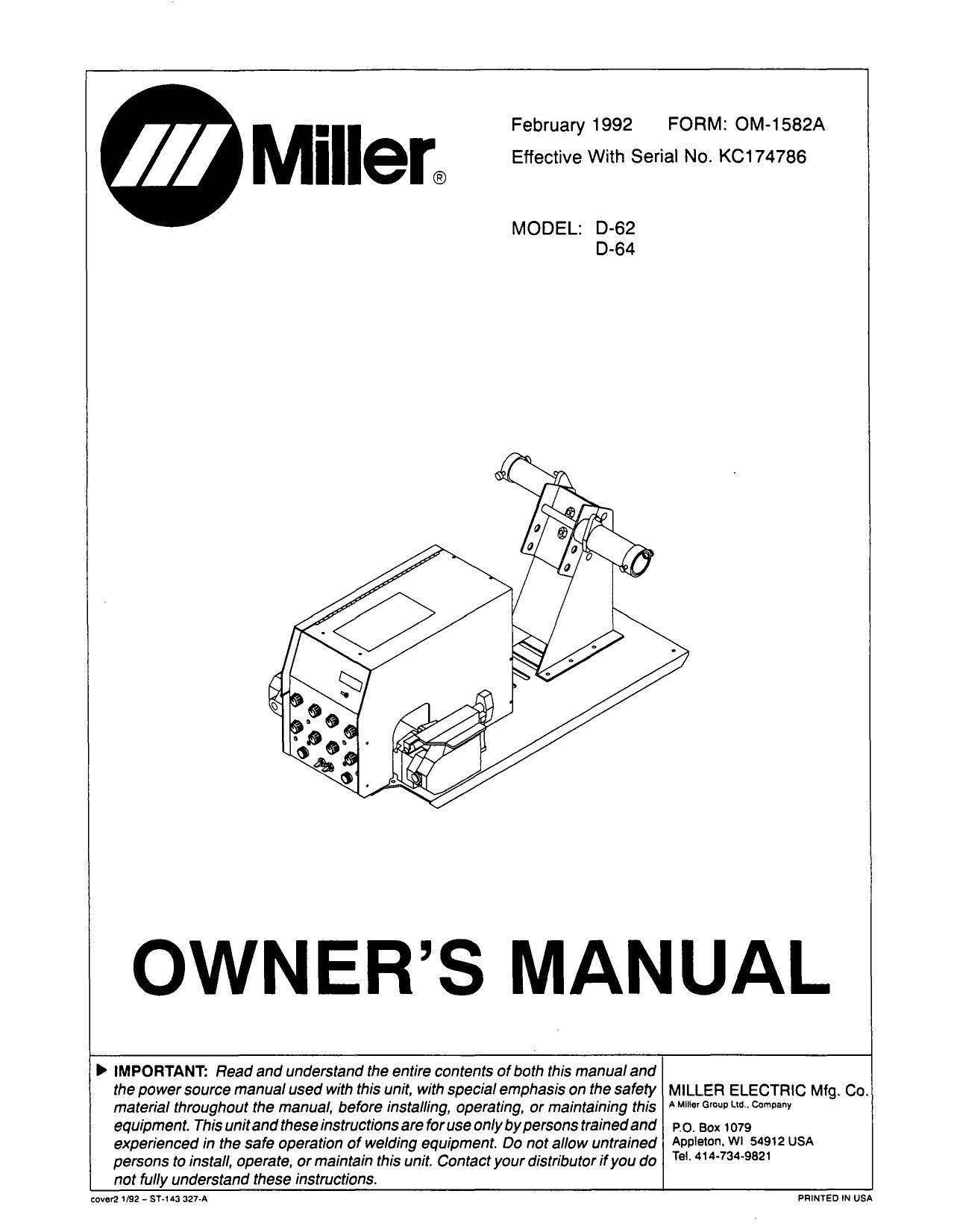 14 Pin Miller Wiring Diagram New In 2020 Miller Welding Miller Owners Manuals