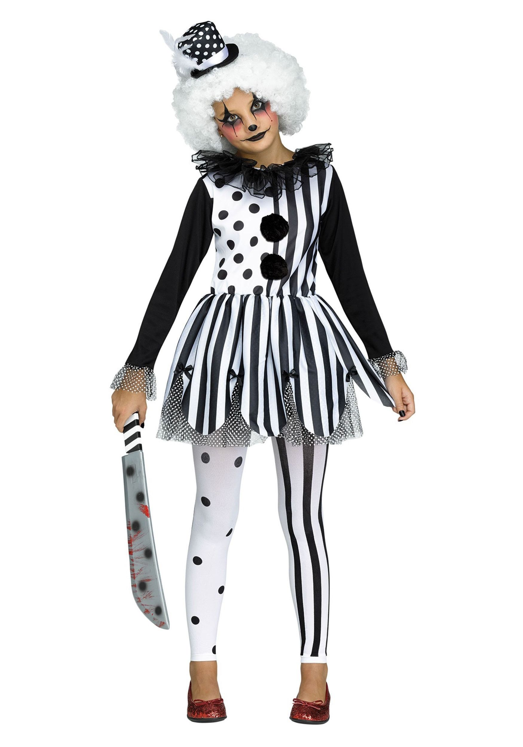 Pin by Karen Vallecillo on Halloween Clown dress, Girl