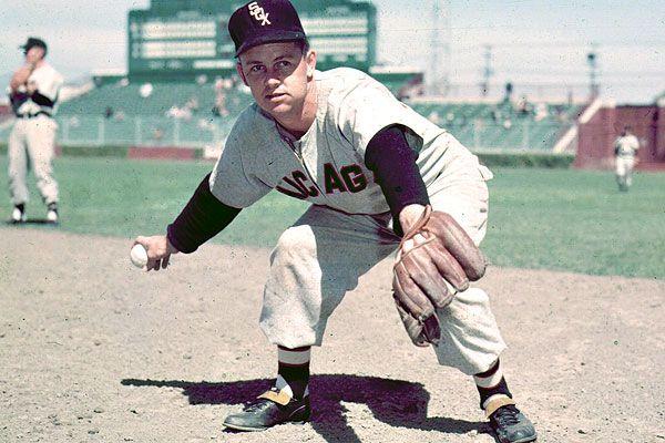 Nellie Fox Nellie Fox White Sox Baseball Baseball Socks
