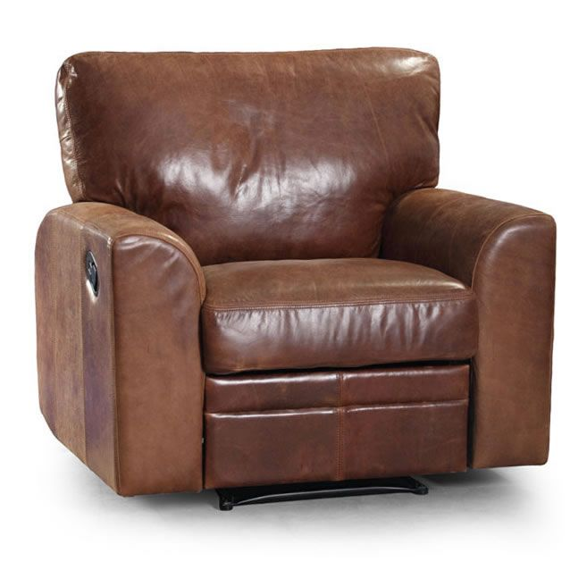Seattle Cerato Vintage Reclining Leather Armchair Next Day Delivery