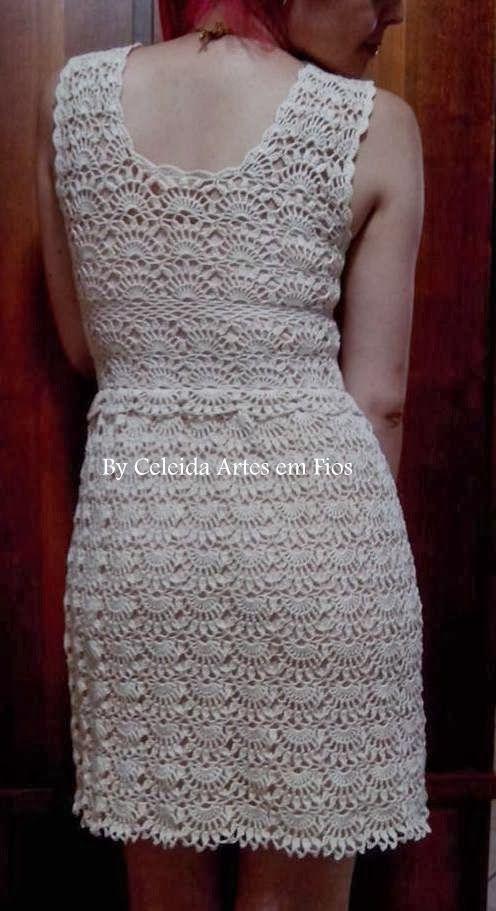 Celeida Ribeiro: Crochet Dress