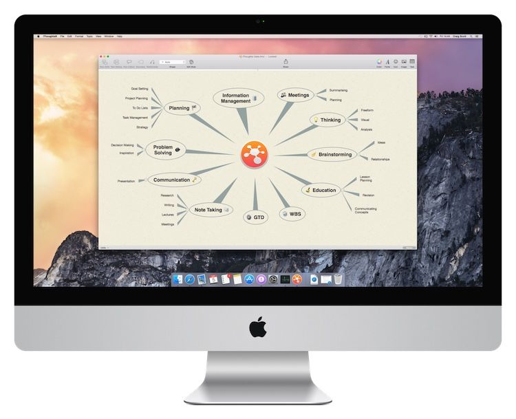toketaWare Mac os, Mind map app, Visual learning