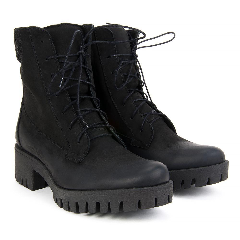 Botki Filippo 2075 Czarny Botki Na Koturnie Botki Buty Damskie Filippo Pl Combat Boots Boots Army Boot