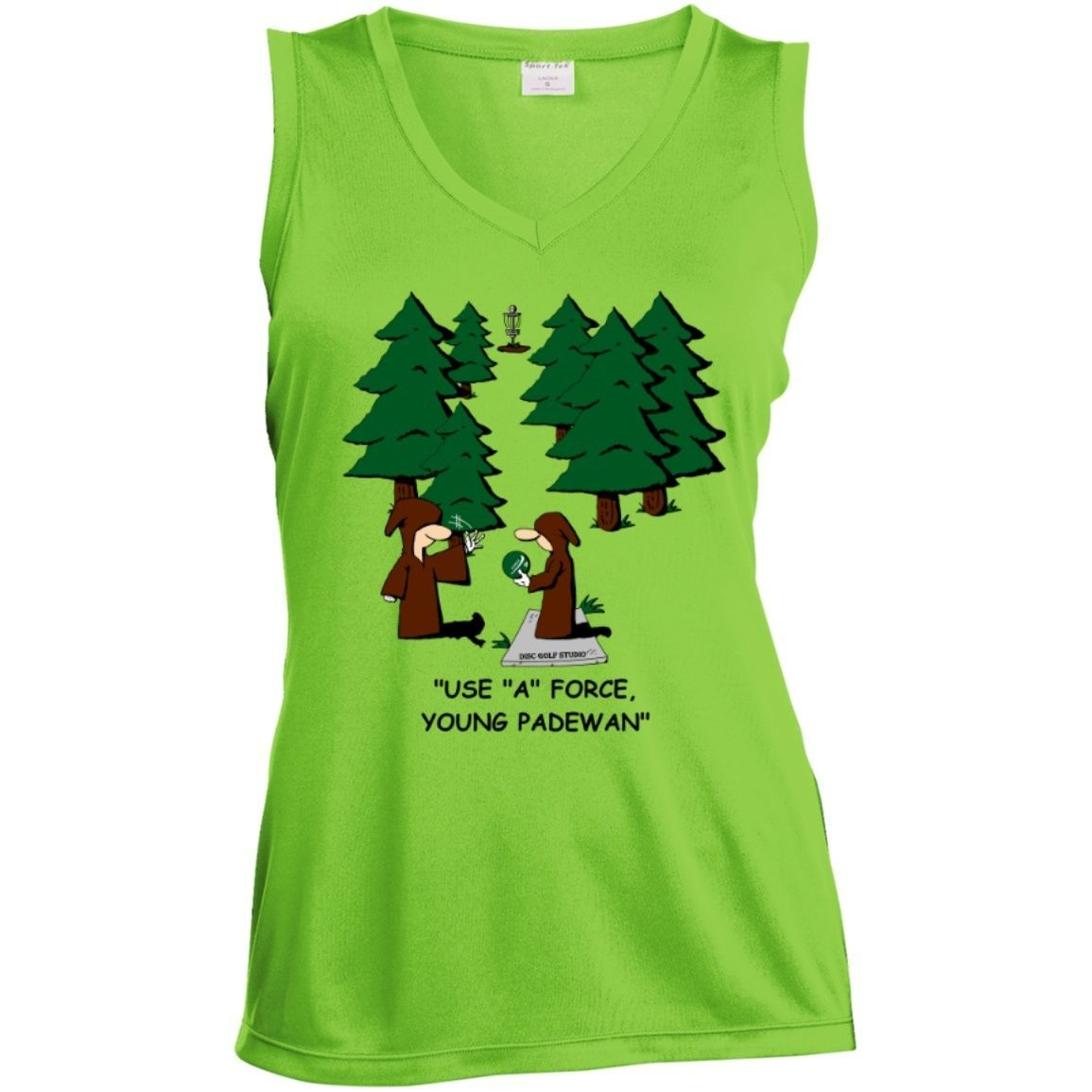 """""""Use A Force"""" Women's Sleeveless Performance Top"""