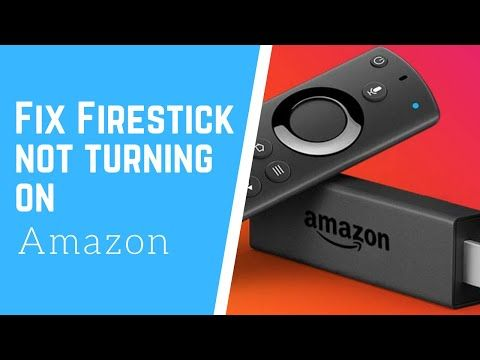 Fix firestick not turning on Power problem YouTube in