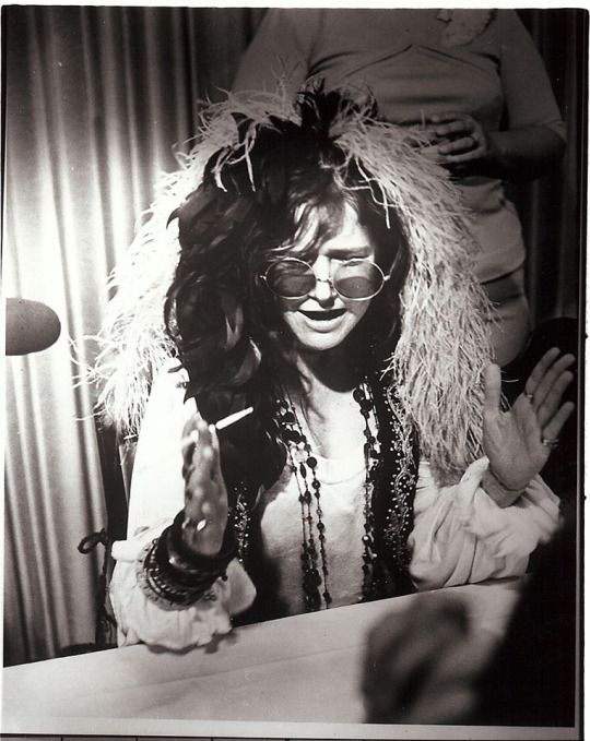 """I have one thing I can do, and I'm getting better at it too, which makes me proud. It makes you feel like an artist rather than a fluke, man, which I think I was. I just happened to have the right combination at the right time."" – Janis Joplin"