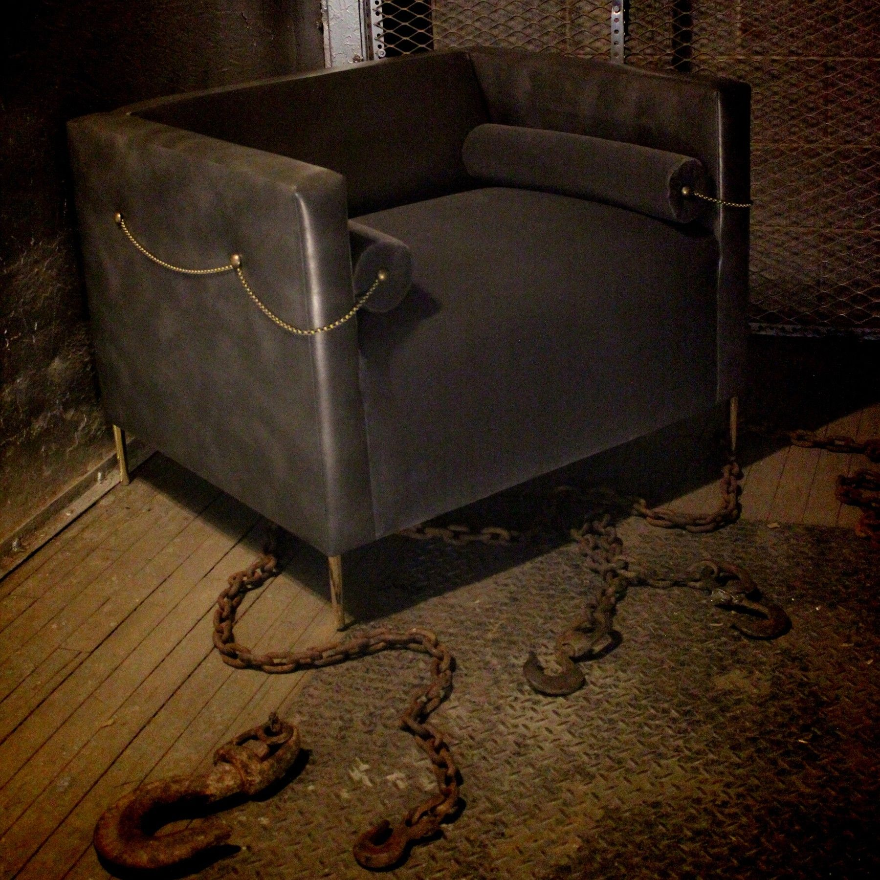 Chained Club Chair - Recovered Interior Collection
