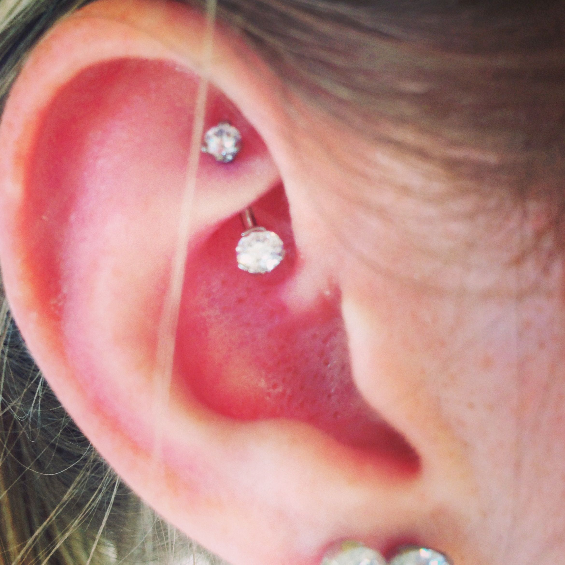 My latest rook piercing that I absolutely adore 3