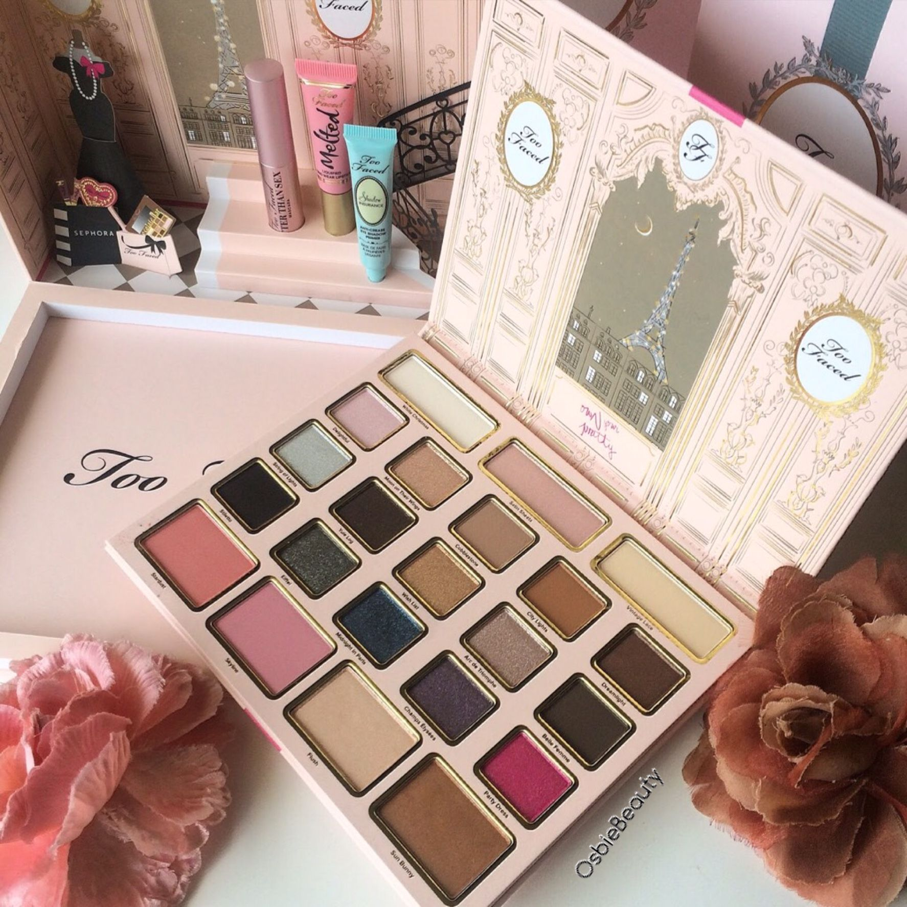 Review  Too Faced Le Grand Palais Gift SetReview  Too Faced Le Grand Palais Gift Set   OsbieBeauty