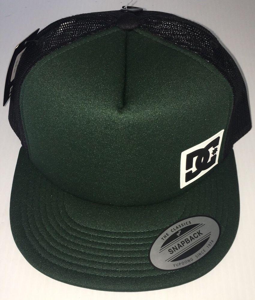 DC Shoes Men s Madglads Snapback Hat Green Baseball Cap Trucker NEW   fashion  clothing   45d691187d13