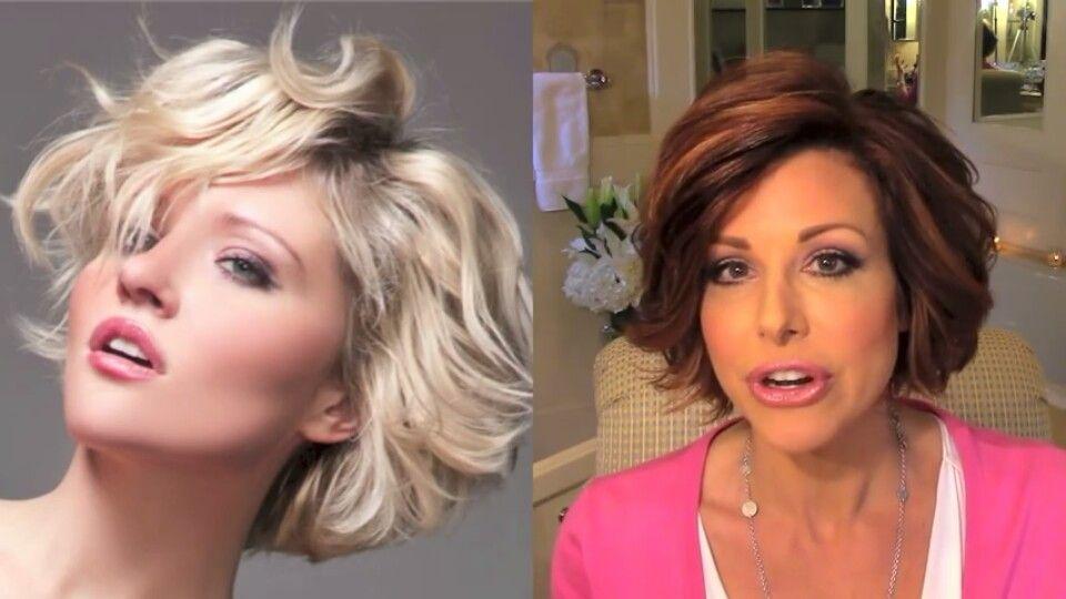 Dominique Sachse Inspired Hair Wavy Bob Haircuts Hair
