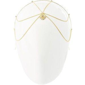 Charlotte Russe Embellished Goddess Chain Headband
