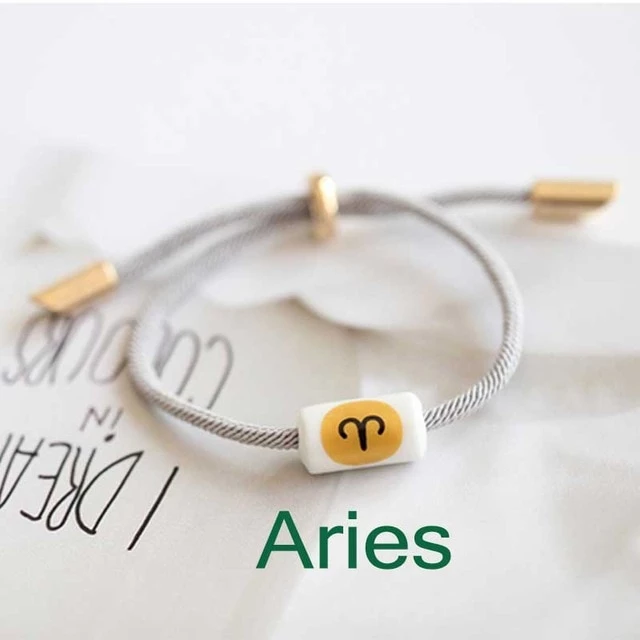 12 Constellation Bracelets Couples Friends Student Men And Women Concise Fashion Jewelry Japanese Decoration Kor Custom Charm Bracelet Style Gift Charm Jewelry