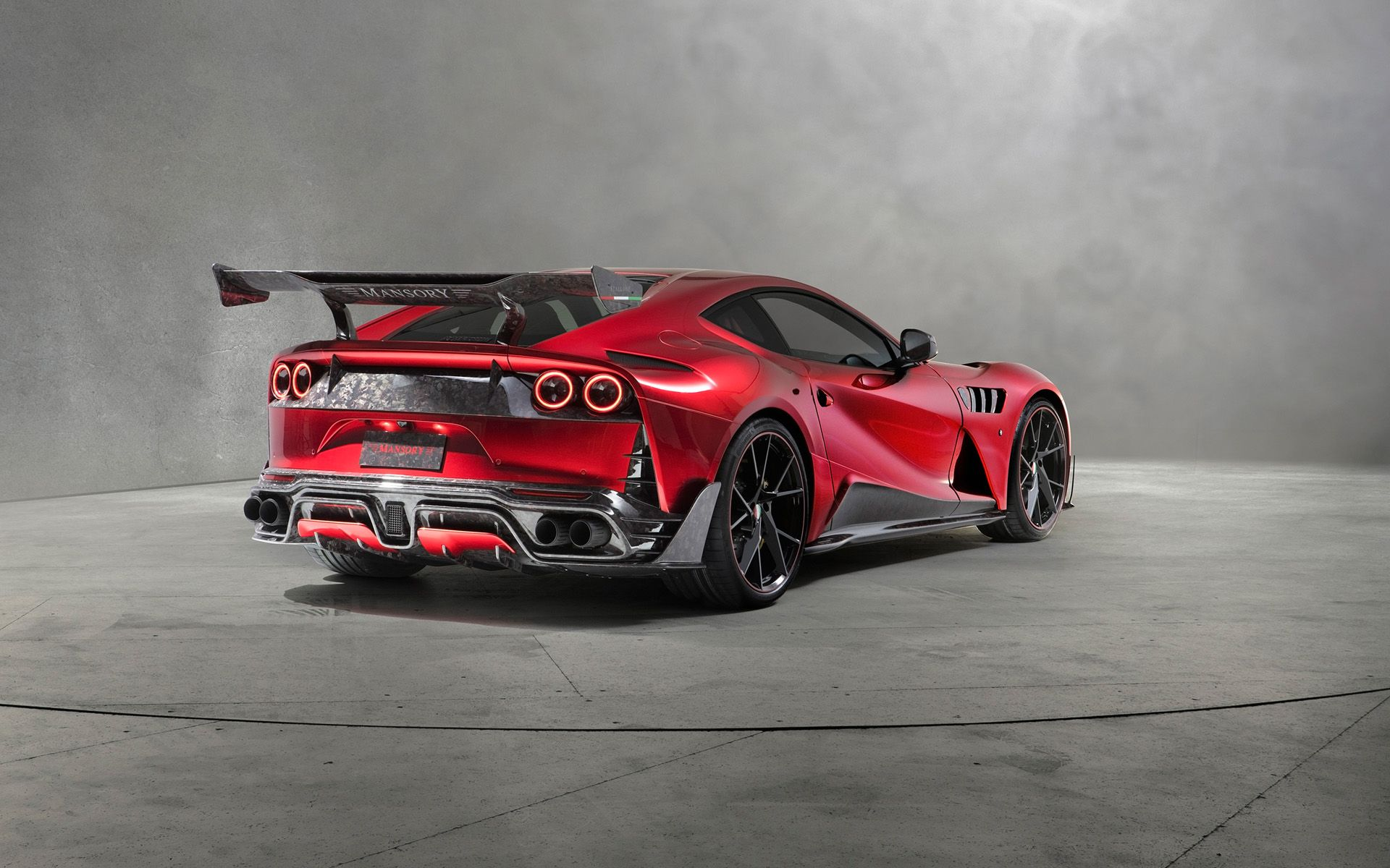 2018 Mansory Ferrari 812 Superfast Stallone Serious Wheels