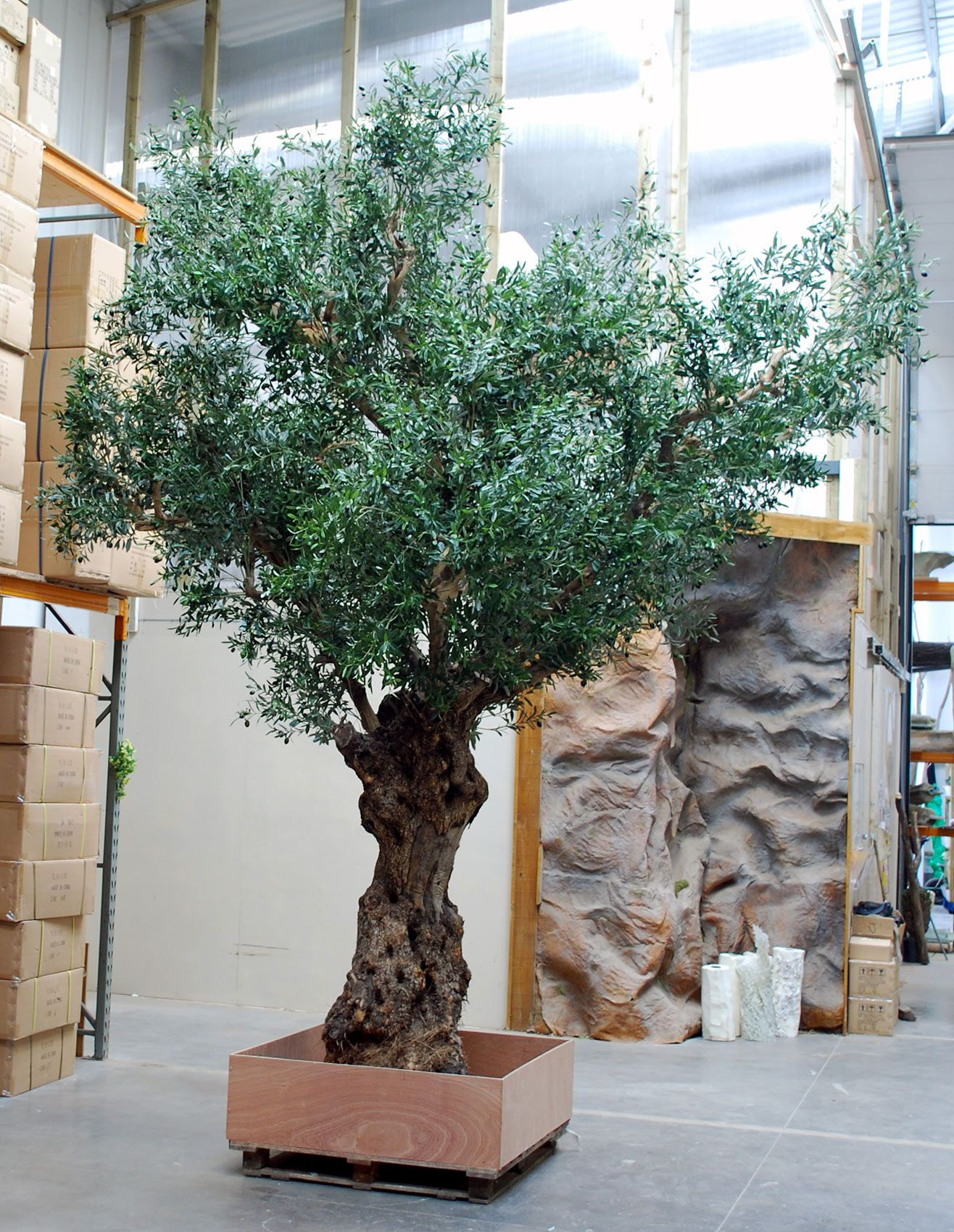 Customised Artificial Olive Tree, for Hotels, Shopping