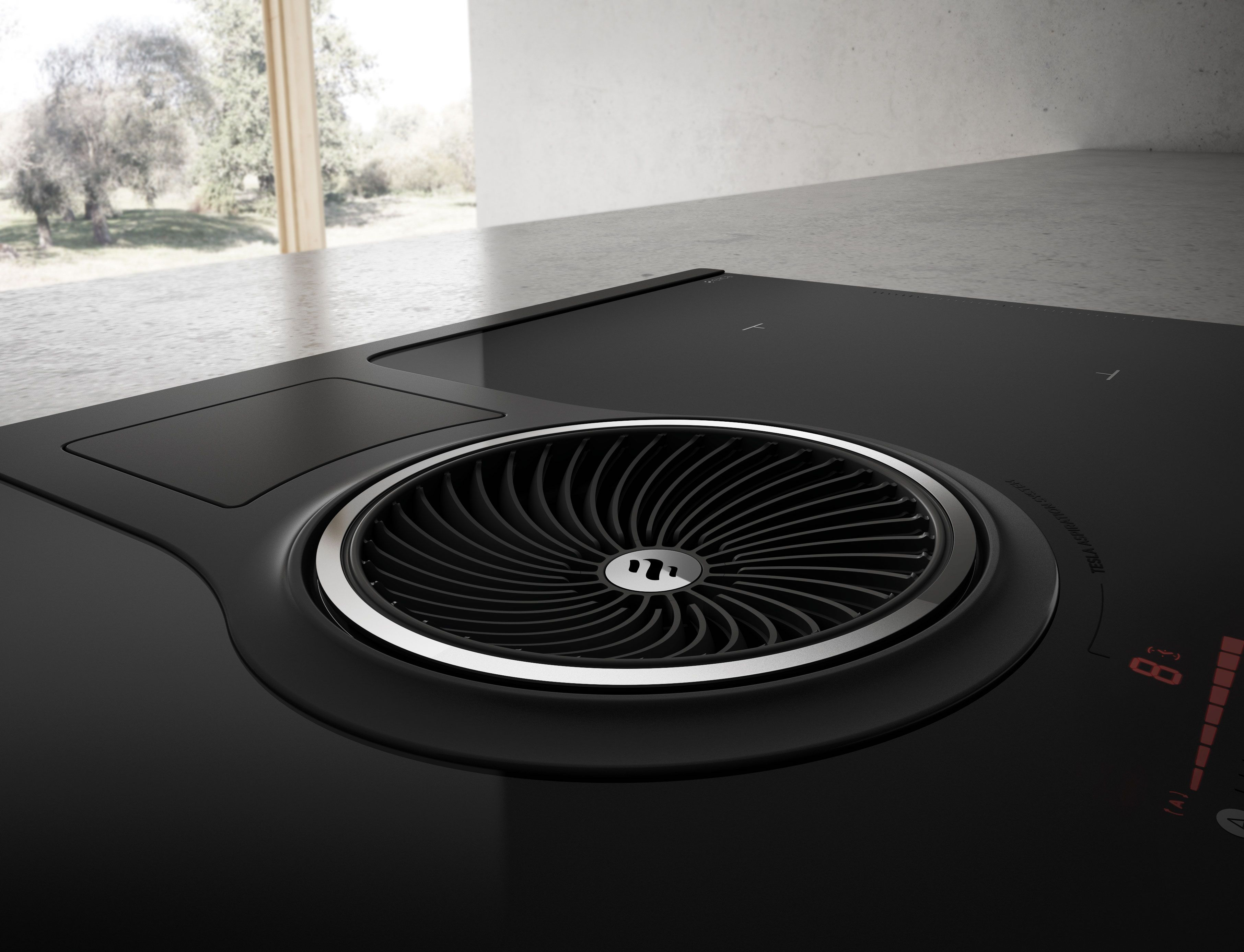 Look out for Bora s unique worktop extractor and domino hob system