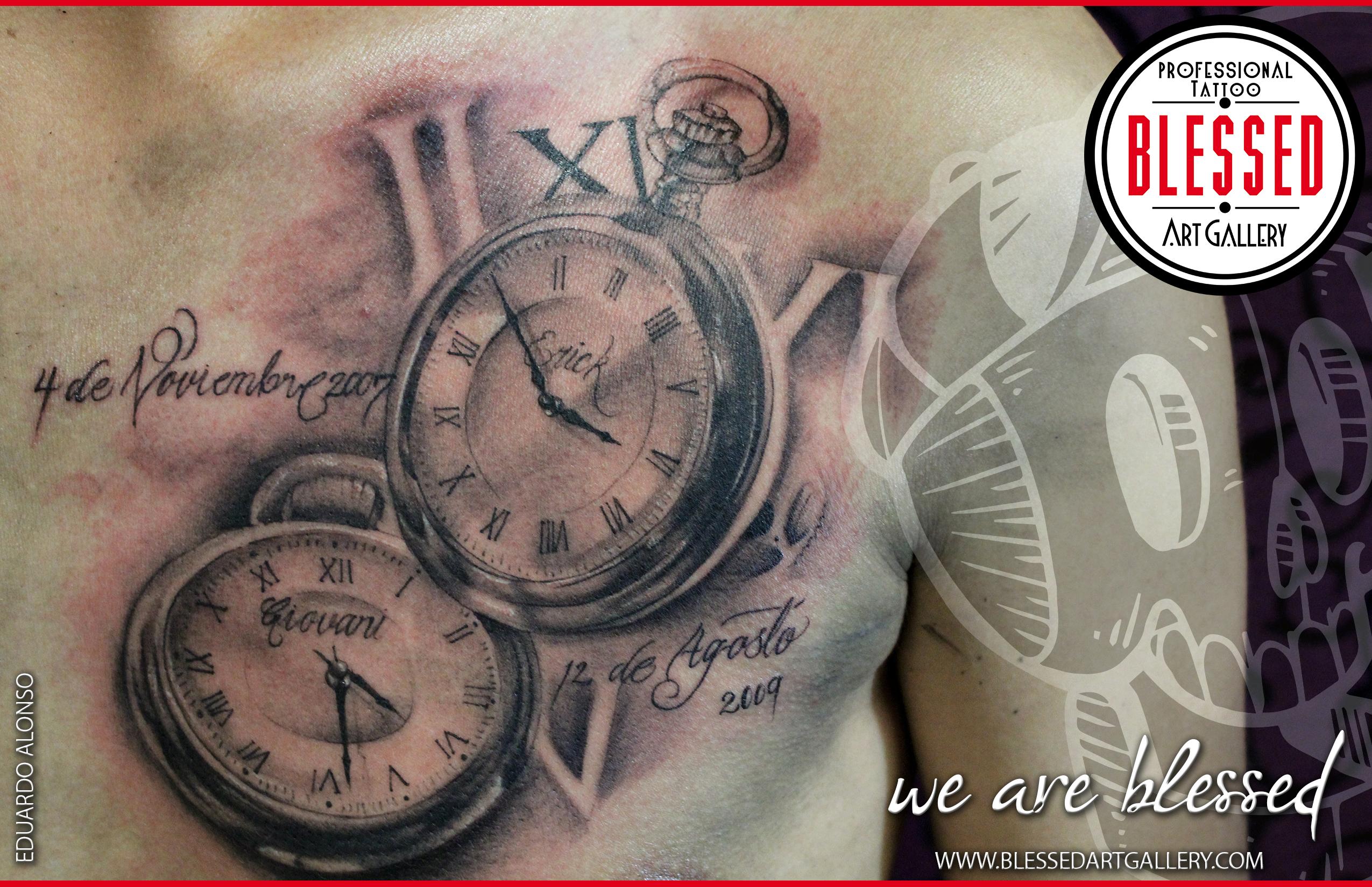 Tattoovorlage uhr