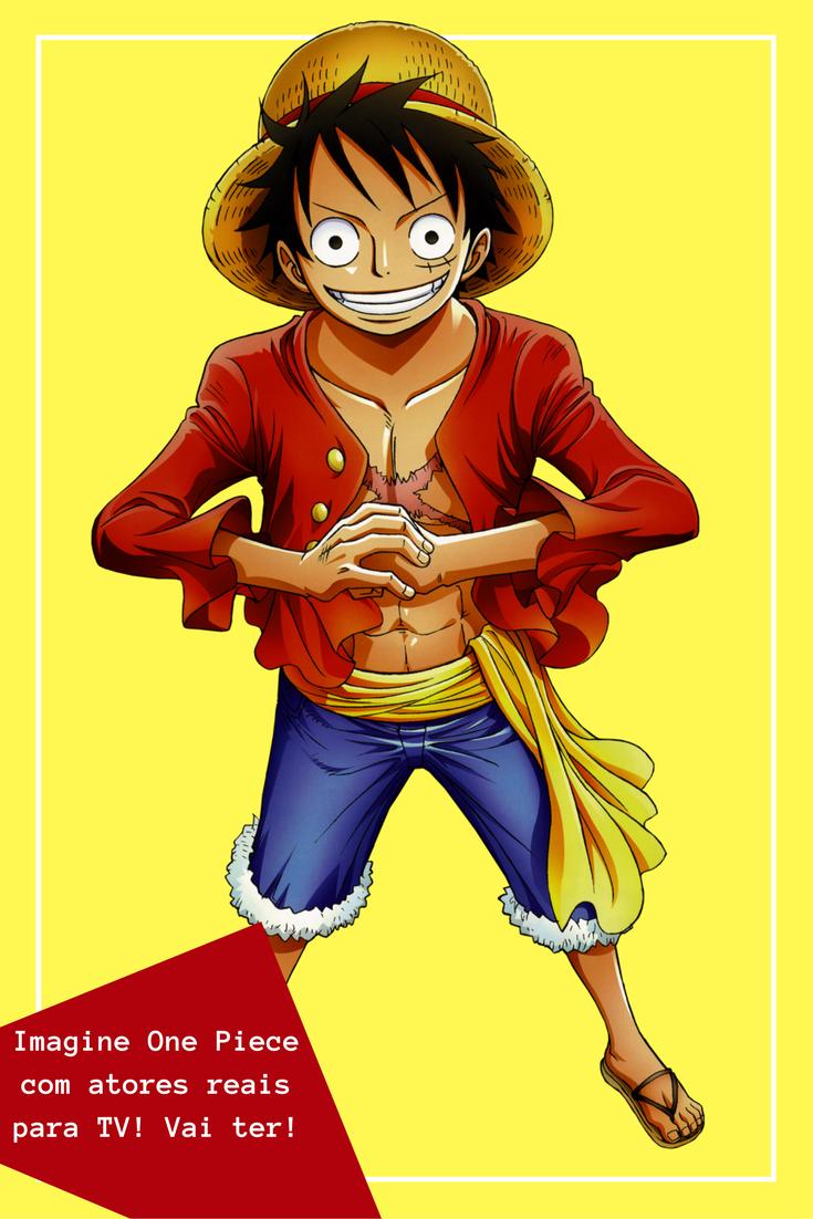 One Piece vai ganhar adaptação liveaction para TV Live