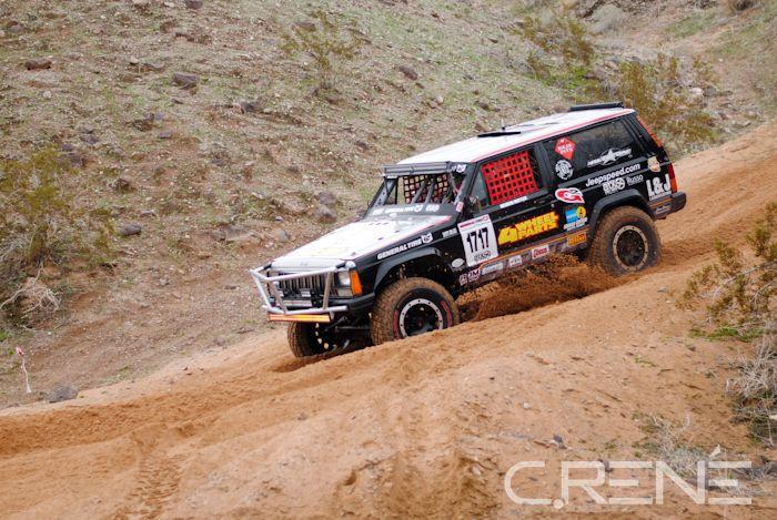 Jeepspeed, Best in the Desert, Parker 425