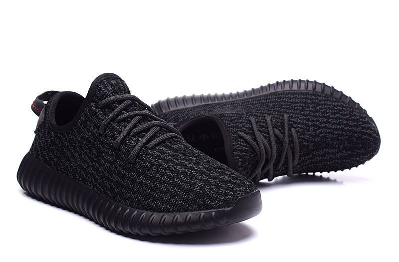dad923af7a7 2016 Adidas Yeezy Boost 350 Women Running Shoes all black