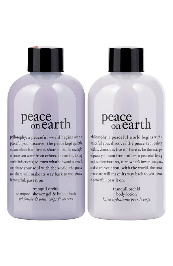 Philosophy Peace On Earth Duo Nordstrom Exclusive Nordstrom Philosophy Beauty Beauty Products Drugstore Body Skin Care