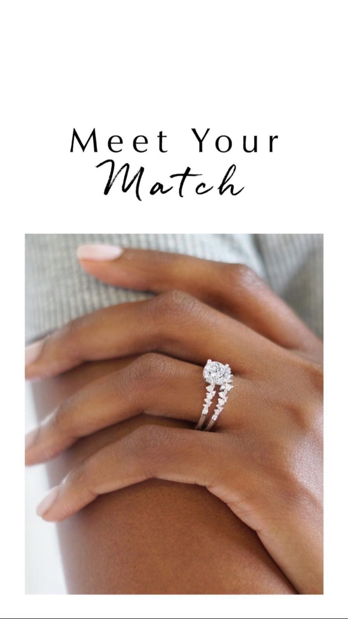 Rings Find Their Perfect Match In Our Collection Of Timeless Engagement Ring And Wedding Ring Wedding Ring Hand Timeless Engagement Ring Matching Wedding Rings