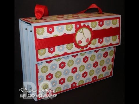 Stampin' Up! Card Organizer Tutorial
